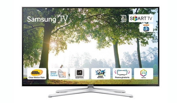 samsung ue40h6400 televisor led 3d smart tv 40 102 cm ebay. Black Bedroom Furniture Sets. Home Design Ideas