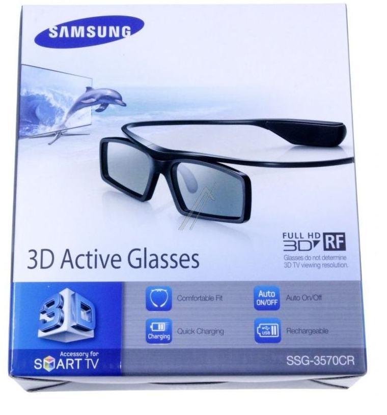 Samsung gafas 3D recargables para adultos